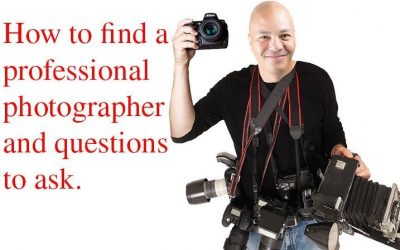 How to find a professional wedding photographer in New York City.