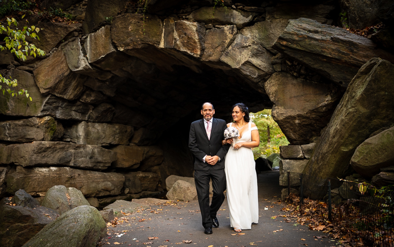 Free public park to have a wedding ceremony in New York City (Central Park)